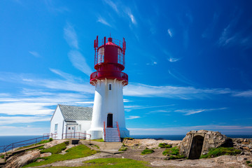 Wall Mural - the Lindesnes lighthouse