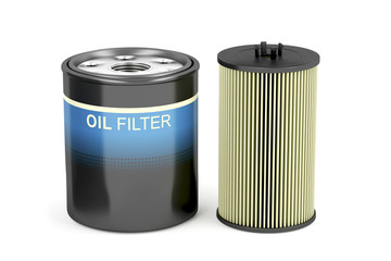 Spin-on and cartridge oil filters