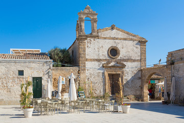 Marzamemi (Sicily, Italy) - The fishing village of Marzamemi Fototapete