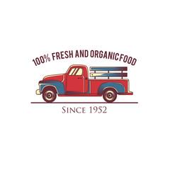 Farm vector logos design