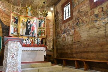 ポーランド マウォポルスカ南部の木造聖堂群 リプニツァ・ムロヴァナ 世界遺産 木造教会 レオナルド教会 poland Wooden Churches of Southern Małopolska World Heritage Church of St Leonard in Lipnica