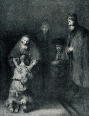 The Return of the Prodigal Son (Rembrandt, ca. 1661–1669)