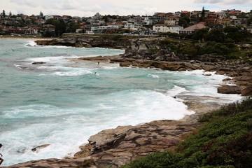Bondi Beach Coastal Walk to Bronte Beach in Sydney, New South Wales Australia