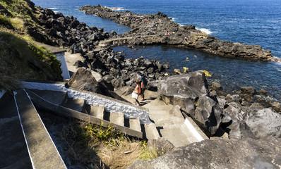 Miradouro do Frade, Maia, Sao Miguel, Azores Islands, Portugal.