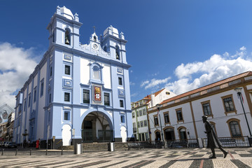 Misericordia Church (Igreja) at Angra do Heroismo, Terceira, Azores Islands, Portugal.