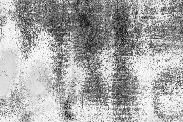 White metal wall texture background with scratches and cracks.