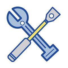 tools to car repair service design vector illustration