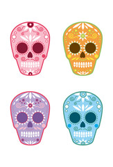 Mexican Day of the Dead Sugar Skull 1