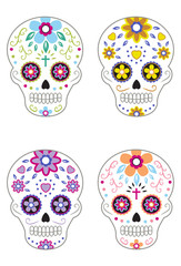 Mexican Day of the Dead Sugar Skulls 2