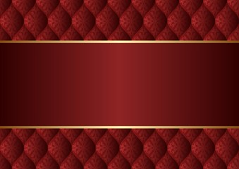 maroon background with decorative pattern