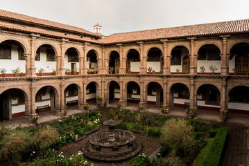 Convent of Our Lady of Mercy (Iglesia de La Merced) in Cusco, Peru