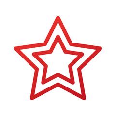 christmas star ornament celebration decoration vector illustration