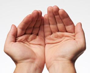 Callus on human hands