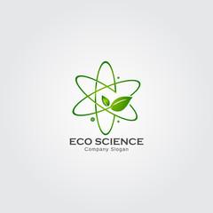 Eco science logo