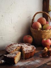 tarta de manzana casera y muy rica