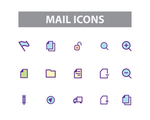 Mail Vector Icons