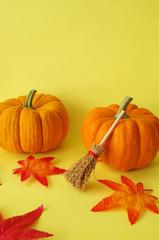 かぼちゃとほうき