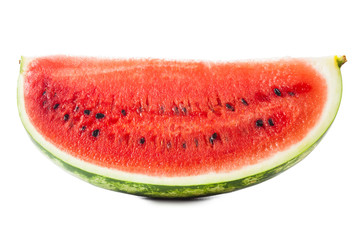 Ripe juicy watermelons