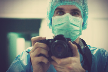 portrait of a medical photographer