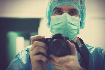 portrait of a medical photographer