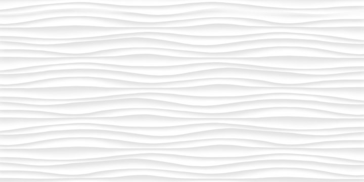 Line White texture. Gray abstract pattern seamless. Wave wavy nature geometric modern.