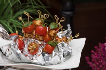 Tomaten als Vorspeise