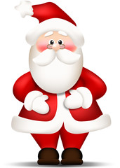 Santa Claus. Merry Christmas and Happy New Year.