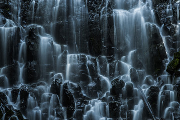Scenic view of Ramona Falls
