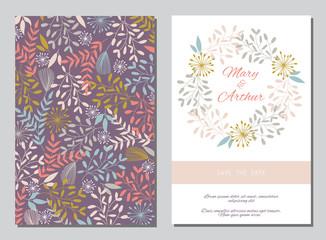 Floral wedding backgrounds
