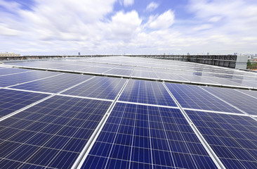 Solar PV Rooftop System with Moving Cloud