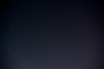 Black night sky plenty of stars with