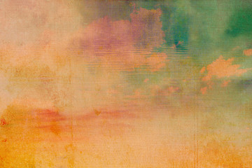 Beautiful, old, grunge background in warm colors