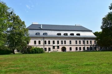 castle Kinských in Valasske Mezirici in Czech republic