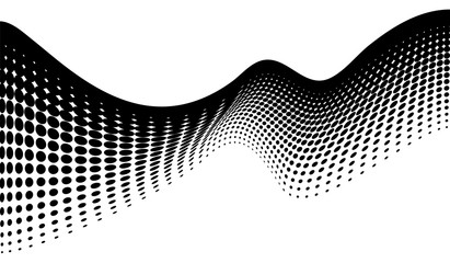 dot halftone. dotted design element abstract morph art background