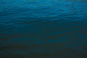 Photo of blue ocean texture