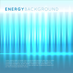 Blue energy abstract background