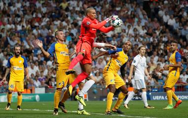 Champions League - Real Madrid vs Apoel Nicosia