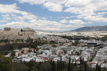 Athens Monuments, Greece, 2017