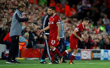 Champions League - Liverpool vs Sevilla