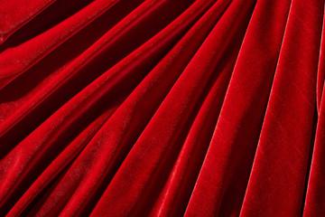 red velvet textile for background or texture