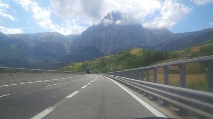 autostrada roma l'aquila
