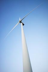 Windmill seen from below