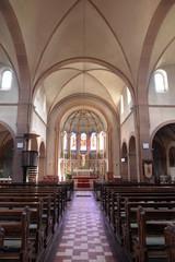Innenansicht der Paulskirche in Hanau Großauheim