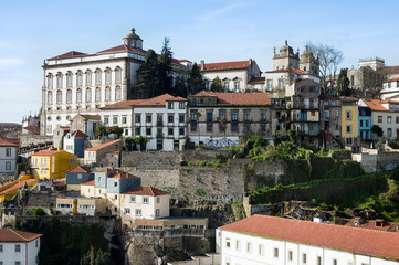 Views of Oporto old town, Portugal