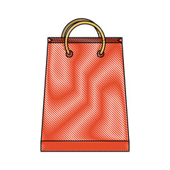 shopping bag icon image vector illustration design