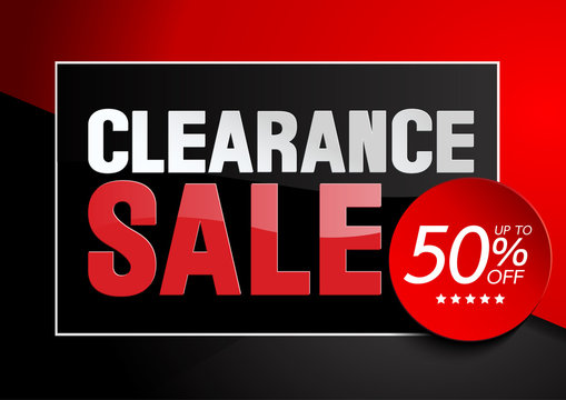 clearance Sale illustration background vector