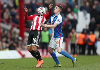 Brentford v Blackburn Rovers - Sky Bet Football League Championship