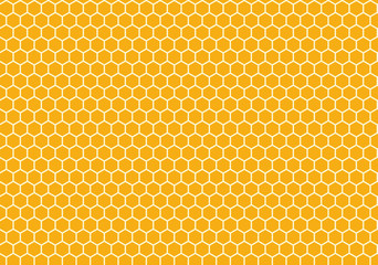 Seamless Honeycomb background texture