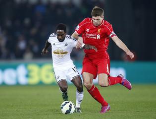 Swansea City v Liverpool - Barclays Premier League