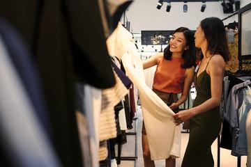 Choosing stylish clothes